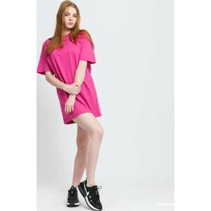 Nike W NSW Essemtial S Dress tmavě růžové