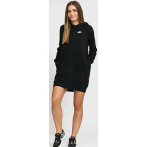 Nike W NSW Essential Fleece Dress černé XL