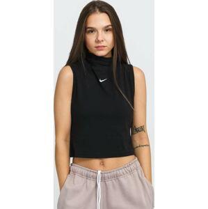 Nike W NSW Essential Mock SL Top černý L