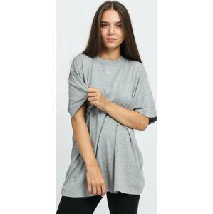 Nike W NSW Essential SS Top BF melange šedé XL
