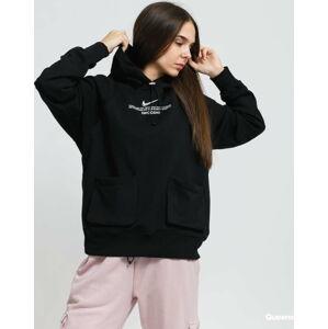 Nike W NSW Swoosh Hoodie FT černá XL