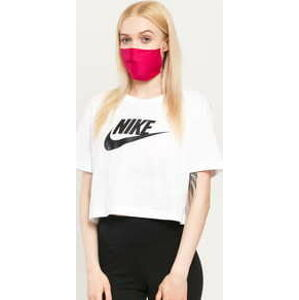 Nike W NSW Tee Essential Crop Icon bílé L