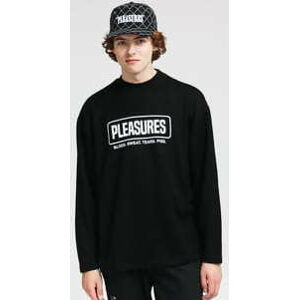 PLEASURES Fresno Knit Long Sleeve černý XL