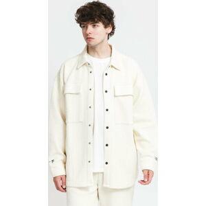 PREACH Oversized Shirt Jacket krémová