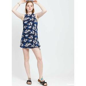 Roxy Value Line Tee Dress navy / modré / bílé L