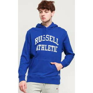 RUSSELL ATHLETIC Arch Logo Hoody modrá XL