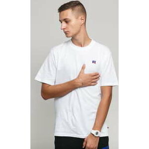 RUSSELL ATHLETIC Baseliner Tee bílé M