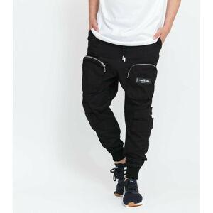 Sixth June Front Zip Pocket Cargo Pant černé XL
