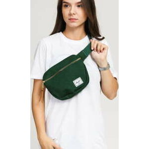The Herschel Supply CO. Fifteen Hip Pack melange tmavě zelená