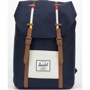 Herschel Supply CO. Retreat Backpack navy / krémový / hnědý