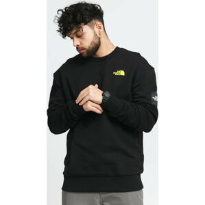 The North Face M Black Box Crew Fleece černá M