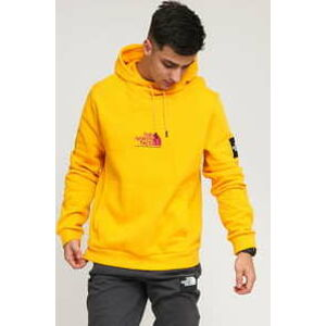 The North Face M Fine Alpine Hoody žlutá XXL