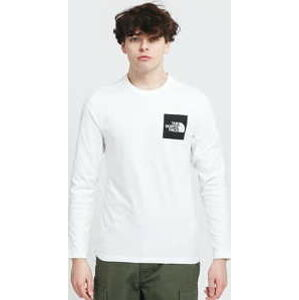 The North Face M L/S Fine Tee bílé S