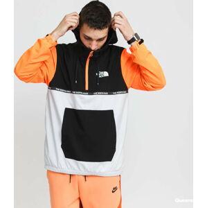 The North Face M A Wind Jacket šedá / černá / neon oranžová