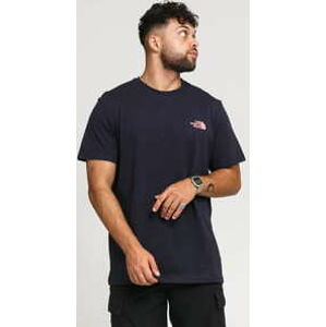 The North Face M Simple Dome Tee navy / růžové S