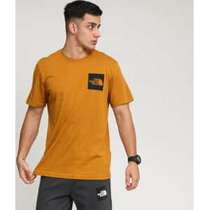 The North Face M SS Fine Tee hnědé XL