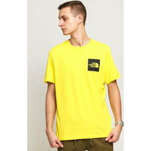 The North Face M SS Fine Tee žluté S