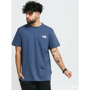 The North Face M SS Simple Dome Tee navy XXL
