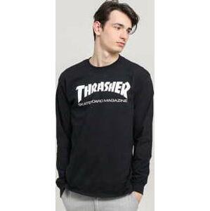 Thrasher Skate Mag LS Tee černé L