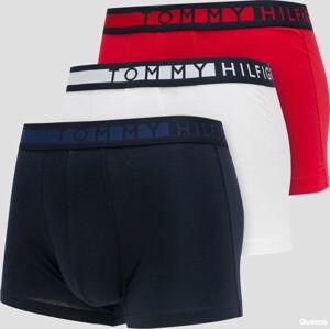 Tommy Hilfiger 3Pack Cotton Trunk C/O navy / červené / bílé XL
