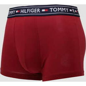 Tommy Hilfiger Cotton Trunk vínové S
