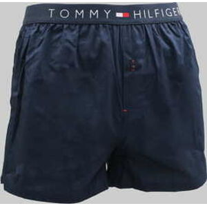 Tommy Hilfiger Cotton Woven Boxer Icon C/O navy L