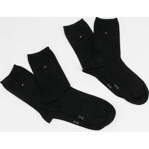 Tommy Hilfiger Women Sock Casual 2Pack černé