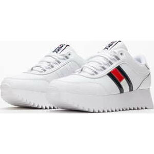 TOMMY JEANS High Cleated Flag Sneaker white EUR 39