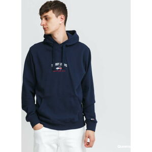 TOMMY JEANS M Timeless Tommy Hoodie navy XL