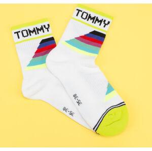 TOMMY JEANS TH Uni TJ Short Sock bílé / multicolor