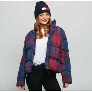 TOMMY JEANS W Cotton Check Puffa Jacket multicolor L