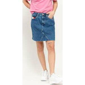 TOMMY JEANS W Short Denim Skirt save 20 mid bl rig 30