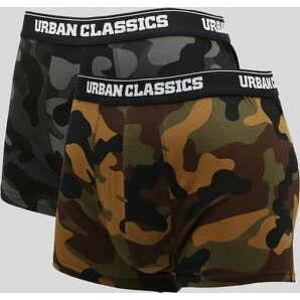 Urban Classics 2-Pack Camo Boxer Shorts XXL
