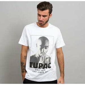 Urban Classics 2Pac Prayer Tee bílé XL