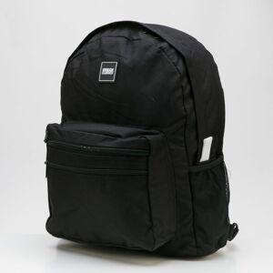 Urban Classics Basic Backpack černý / bílý