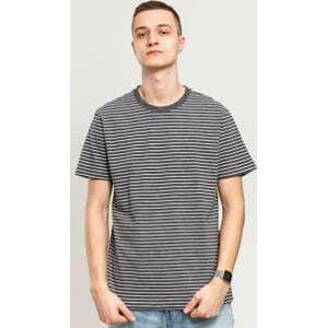 Urban Classics Basic Stripe Tee tmavě šedé / bílé XXL