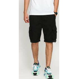 Urban Classics Double Pocket Cargo Short černé XXL