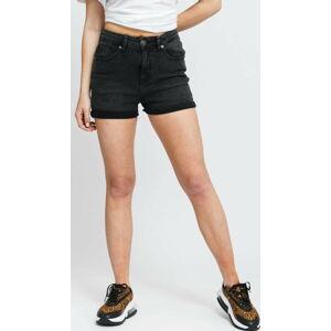 Urban Classics Ladies 5 Pocket Shorts black stone washed 31