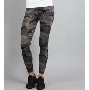Urban Classics Ladies Camo Leggings camo šedé XL