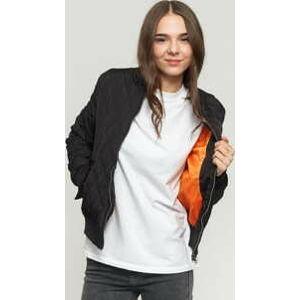 Urban Classics Ladies Diamond Quilt Nylon Jacket černá XL
