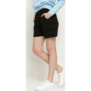 Urban Classics Ladies High Waist Cargo Shorts černé 30