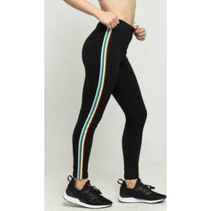 Urban Classics Ladies Multicolor Side Taped Leggings černé M