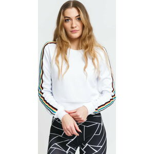 Urban Classics Ladies Multicolor Taped Sleeve Crewneck L