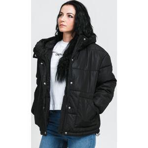 Urban Classics adies Oversized Hooded Puffer černá