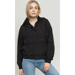 Urban Classics Ladies Panel Pull Over Jacket černá XL