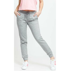 Urban Classics Ladies Sweatpants melange šedé XL