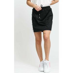 Urban Classics Ladies Track Skirt černá / bílá L