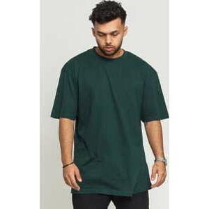 Urban Classics Tall Tee tmavě zelené 5XL