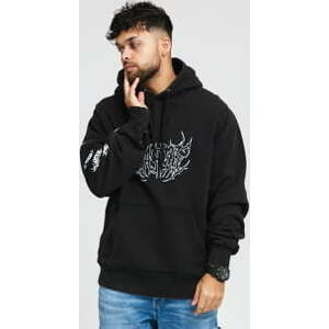 Wasted Paris Shadow Faded Hoodie melange černá S